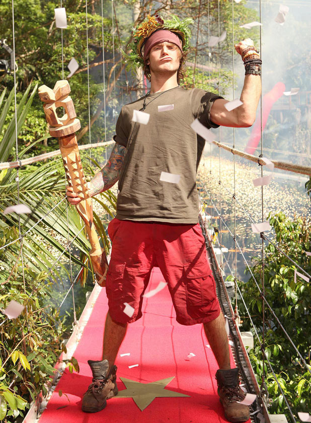 Dougie wins I'm A Celebrity Get Me Out Of Here 2011