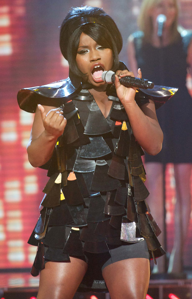 The X Factor: Misha B performs her Motown song