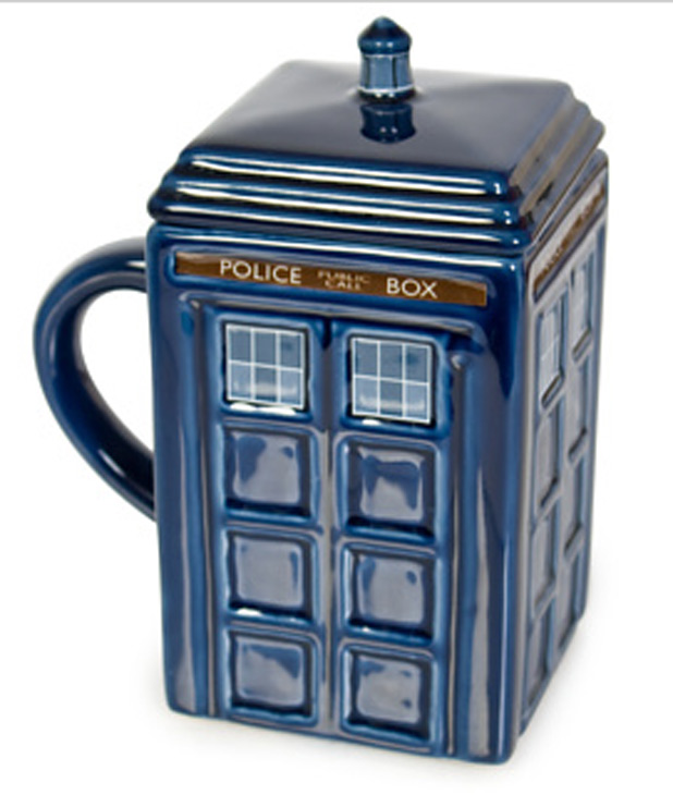 'Doctor Who' Tardis mug