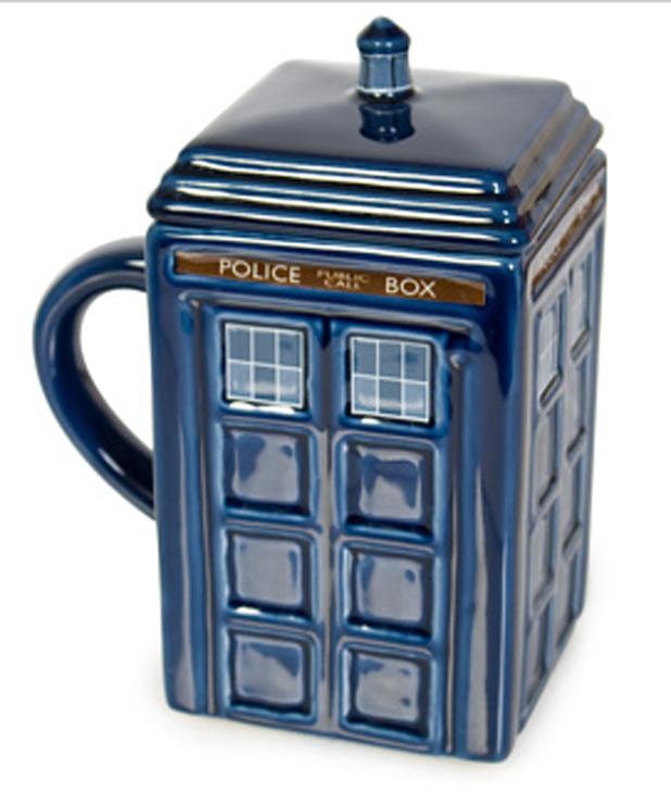'Doctor Who' Tardis mug