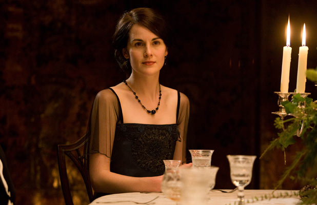Downton Abbey: Who is the recipient of Mary's warm smile?