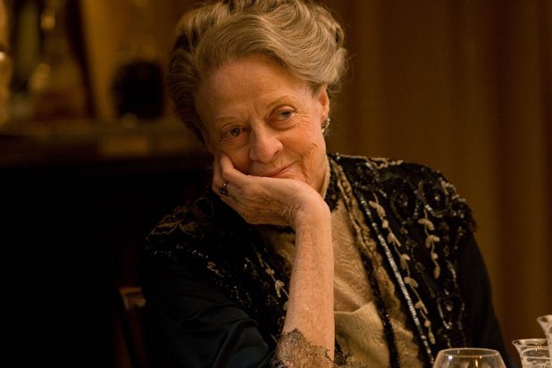 Downton Abbey: Violet casts a watchful eye over proceedings