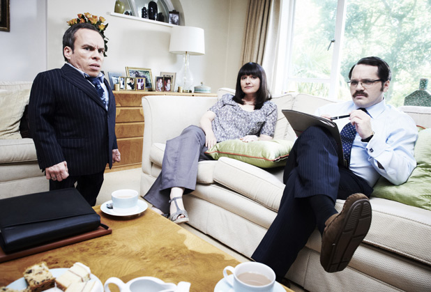 Warwick Davis, Jo and Ian