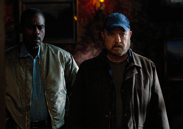 Rufus Turner and Bobby Singer