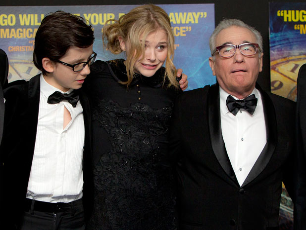 'Hugo' premiere: Martin Scorsese's Royal Film Performance