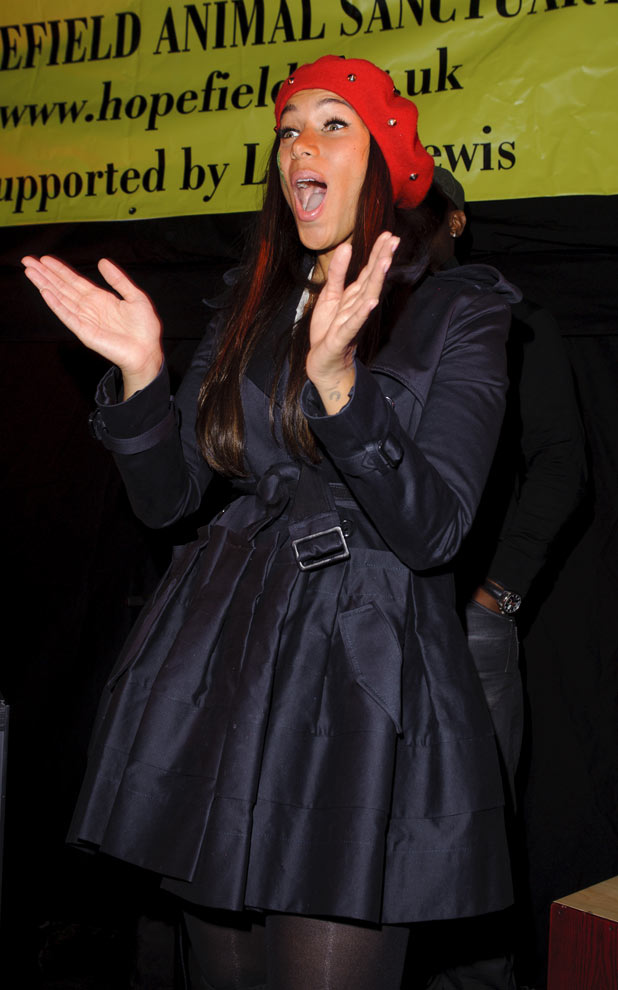 Leona Lewis attends the Hopefield Animal Sanctuary Christmas Fundraising Fair