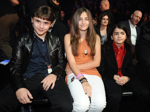 Michael Jackson's children, Prince, Paris and Blanket