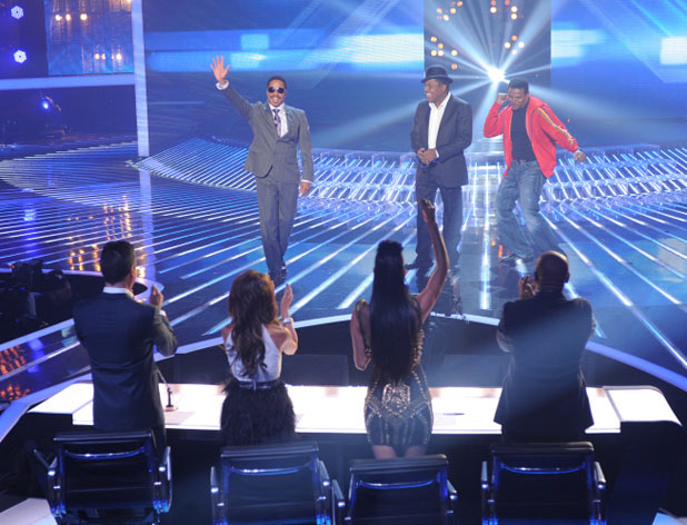 'X Factor' Top 7 performances in pictures: Marlon Jackson, Tito Jackson and Jermaine Jackson