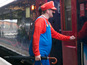 See people dress up as Lara Croft, Mario and Pac-Man in the UK.