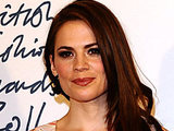 British Fashion Awards 2011: Hayley Atwell