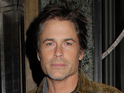 Rob Lowe says that being good-looking held him back from interesting roles.