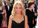 Kristin Chenoweth is recovering at home after an on-set injury.