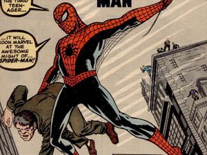 Spider-Man debut in Amazing Fantasy