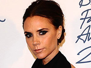 British Fashion Awards 2011: Victoria Beckham with the Designer Brand award