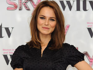Kara Tointon at the press room at the Sky Women in Film & Television Awards