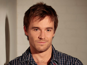 Ben Barber plays Dr Rhys Lawrence