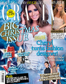 Cheryl Cole on the cover of Grazia magazine