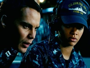 Rihanna in 'Battleship' trailer (still)