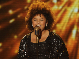 The X Factor Top 5 performances:  Rachel Crow