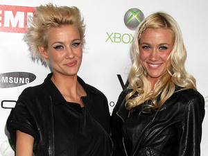 Liv Nervo and Mim Nervo The EMI Post Grammy Party 2010 held at the W Hotel Hollywood Los Angeles