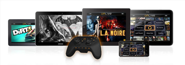 OnLive tablet launch