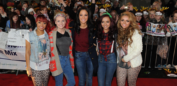 Little Mix and Tulisa Contostavlos