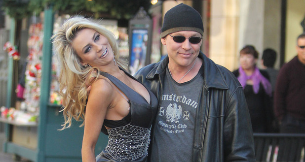 Doug Hutchison and Courtney Stodden at The Grove Hollywood, California - 06.12.11 Mandatory Credit: Josiah True/ WENN.com
