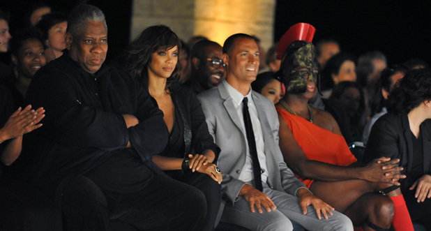 André Leon Tally, Tyra Banks, Nigel Barker and J. Alexander America's Next Top Model