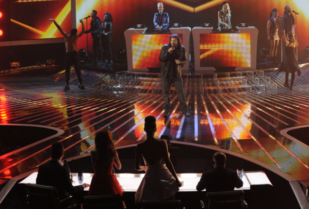 The X Factor Top 5 performances:  Josh Krajcik