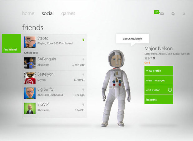 Xbox Live iOS iPhone iPad App