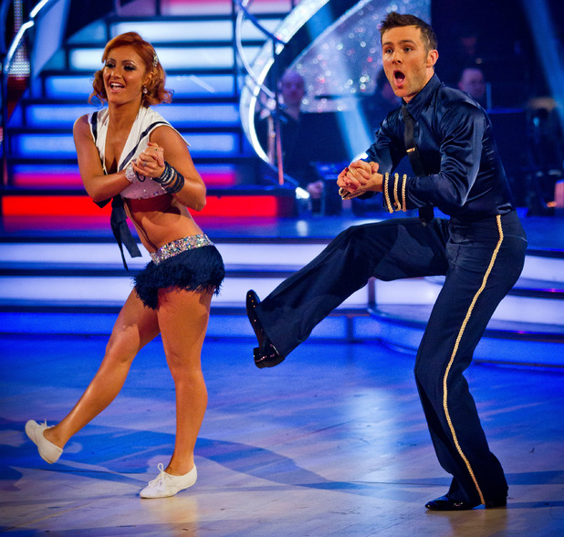 Harry and Aliona dance the Charleston