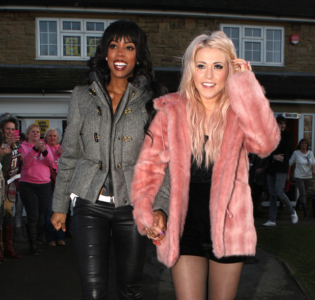 Kelly Rowland and Amelia Lily