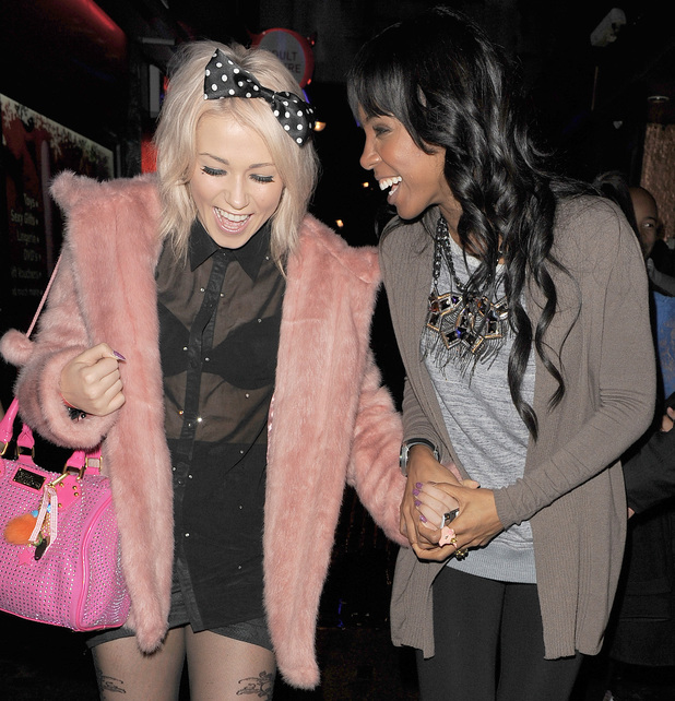 Amelia Lily and Kelly Rowland