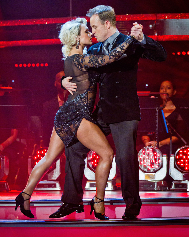 Jason and Kristina scored top marks for their Argentine Tango