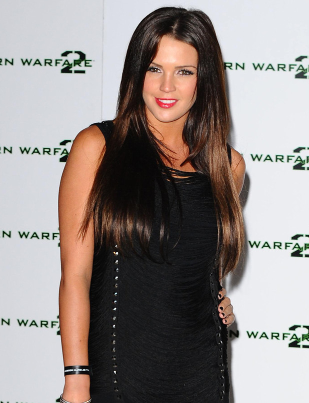 Danielle Lloyd - The English glamour model turns 28 on Friday.