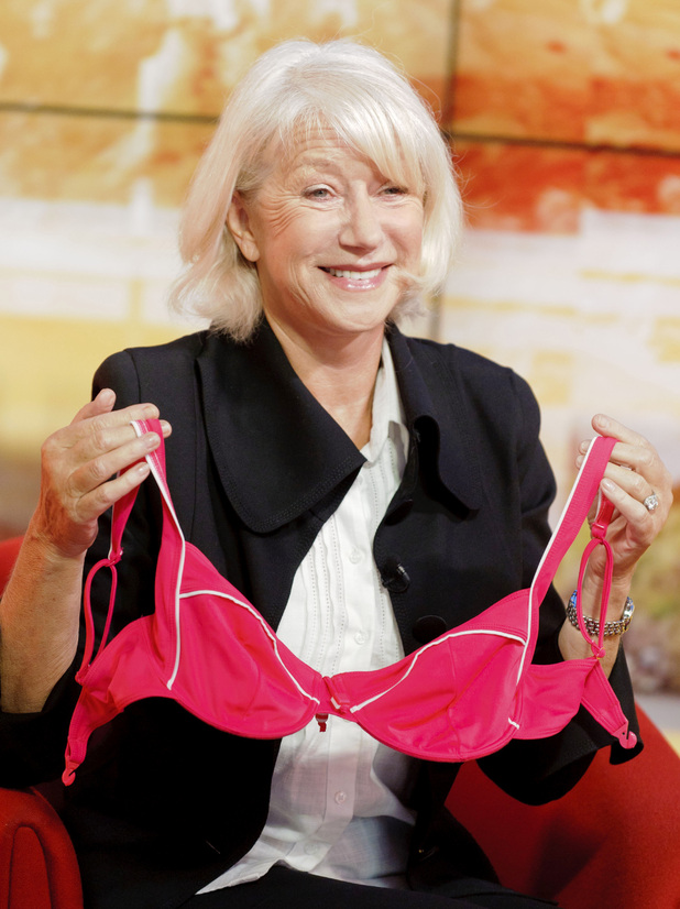 Helen Mirren appears on 'Daybreak'