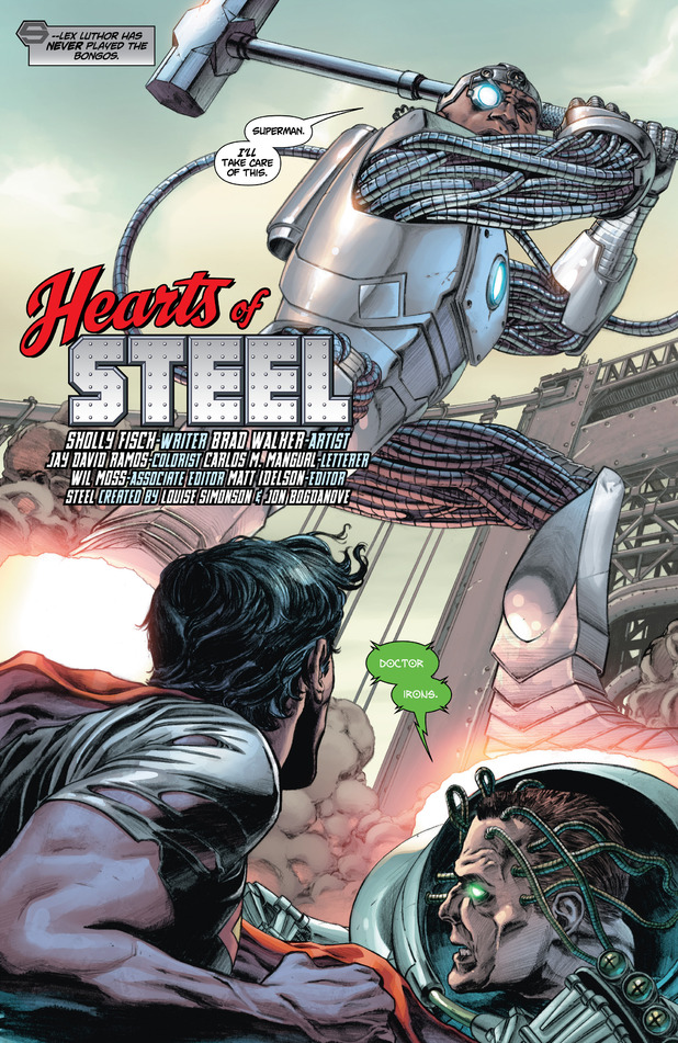 Steel debuts in DC Comics New 52 'Action Comics' #4