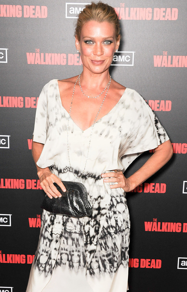 Laurie Holden at the premiere of AMC's 'The Walking Dead'