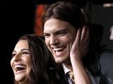 Lea Michele and Ashton Kutcher New Year's Eve premiere, LA