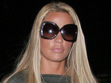 Katie Price arrives at the offices of E! for a meeting Los Angeles