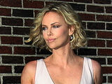 Charlize Theron 'The Late Show with David Letterman' at the Ed Sullivan Theater - Arrivals New York City