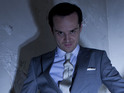 Andrew Scott talks series two of Sherlock and Moriarty's motivations.