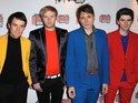 Franz Ferdinand frontman claims producer used guitar riff in Paloma Faith song.