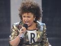 Simon Cowell insists that Rachel Crow has the talent to become a major star.