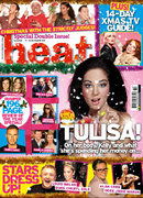 Heat magazine 17-30 December 2011 Cover
