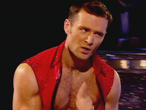 Harry Judd and Aliona Vilani performing on 'Strictly Come Dancing Grand Final'.