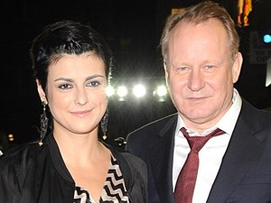 &#39;The Girl With The Dragon Tattoo&#39; London Premiere: Stellan Skarsgard