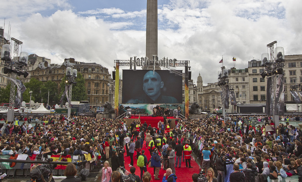 July 7: Harry Potter and the Deathly Hallows: Part 2 premieres in Trafalgar Square