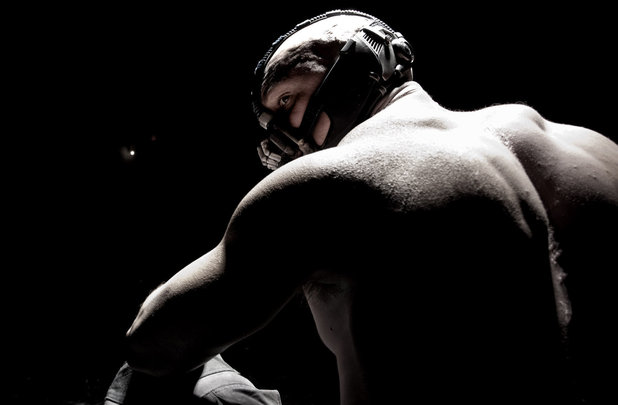 May 20: The first image of Tom Hardy of Bane is released