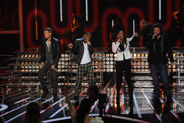 The X Factor USA Top 4 Results Show
